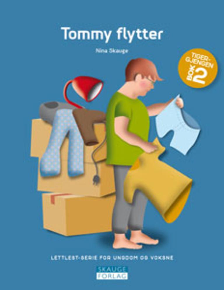 Tommy flytter . 2 . [Tigergjengen]