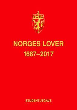 0e24967b0 Norges lover : 1687-2017 - Bergen Offentlige Bibliotek