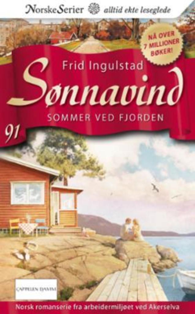 Sommer ved fjorden . 91 . [Sønnavind]
