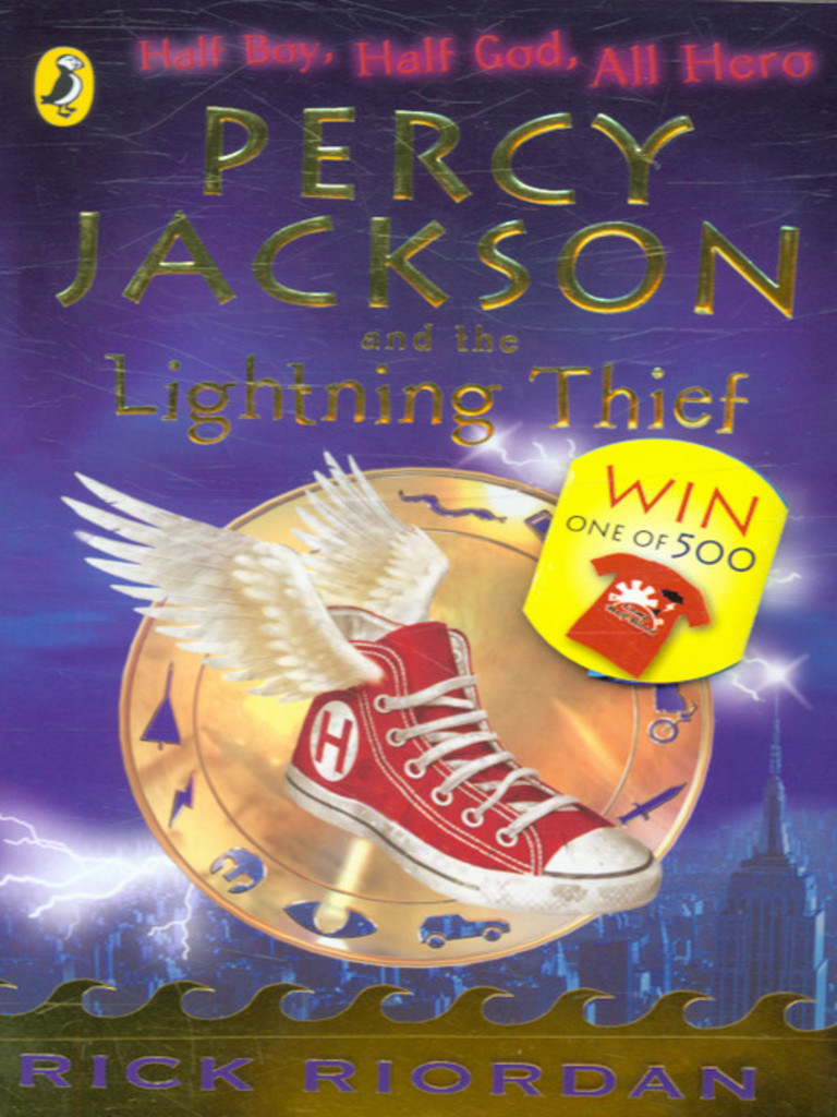 Percy Jackson and the lightning thief . 1