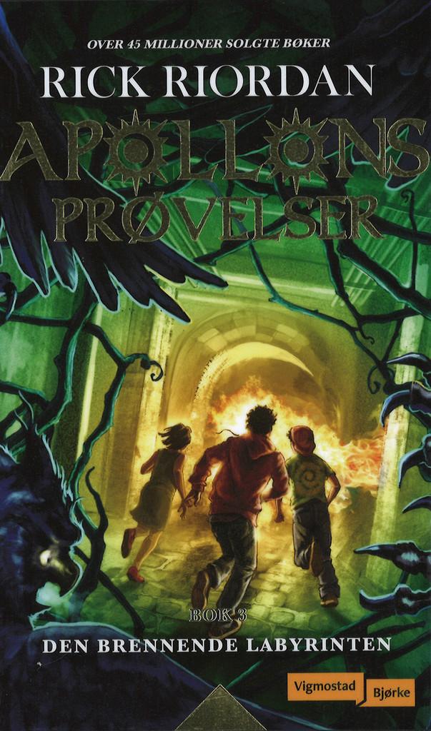Den brennende labyrinten . 3