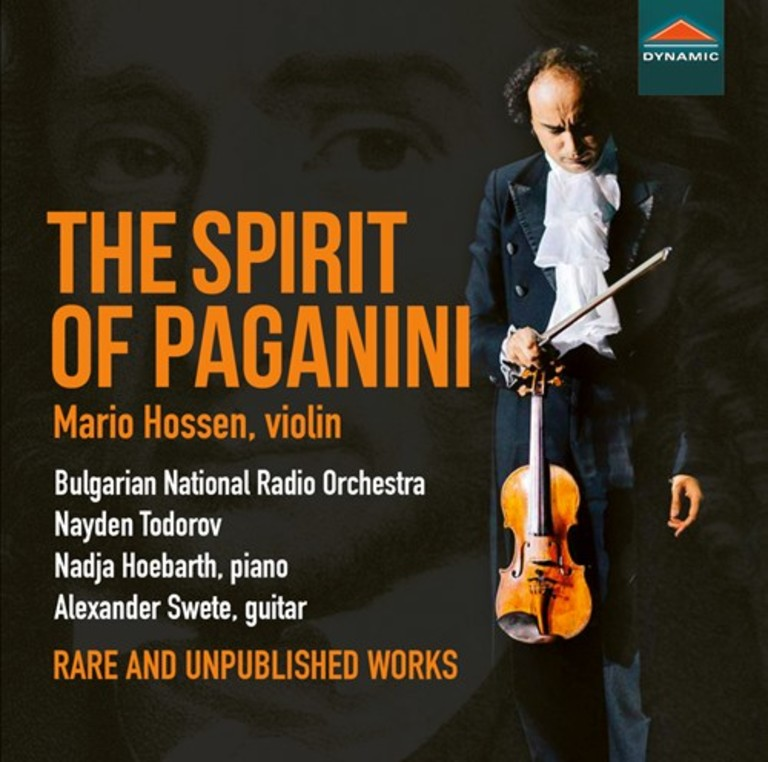 The Spirit of Paganini : Rare and unpublished works