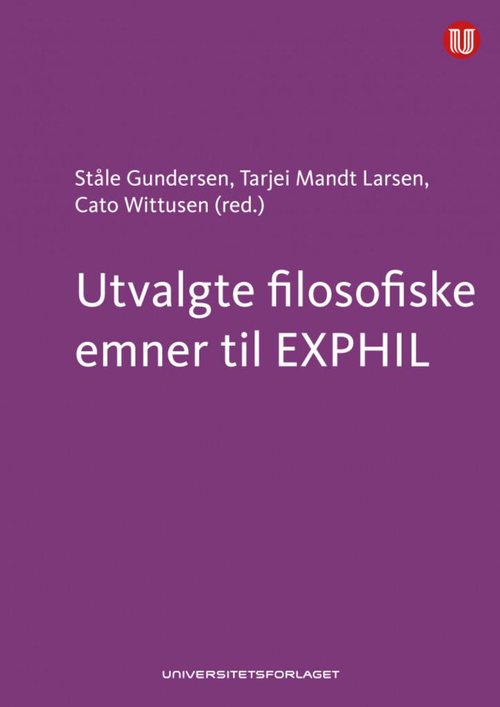 Utvalgte filosofiske emner til EXPHIL