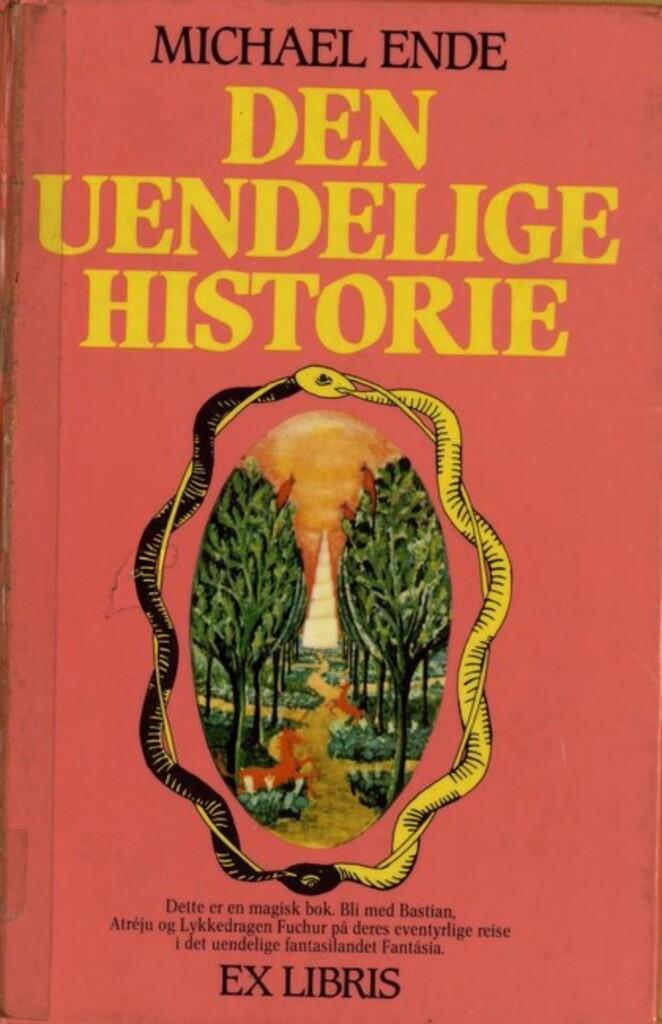 Den uendelige historie : fra A til Å med bokstaver og bilder