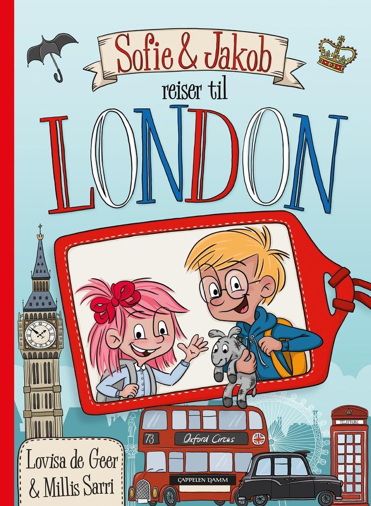Sofie og Jakob reiser til London
