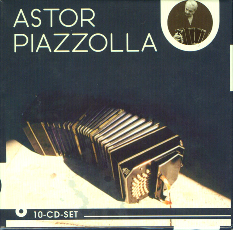 Astor Piazzolla : 10 CD-set