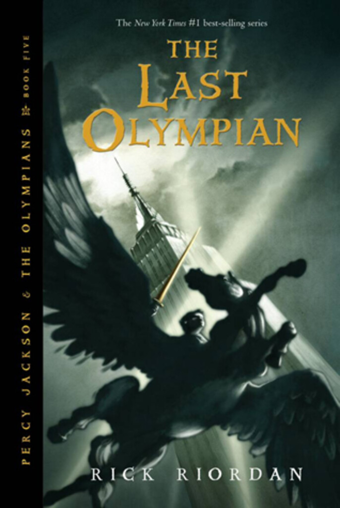 Percy Jackson and the last olympian . 5