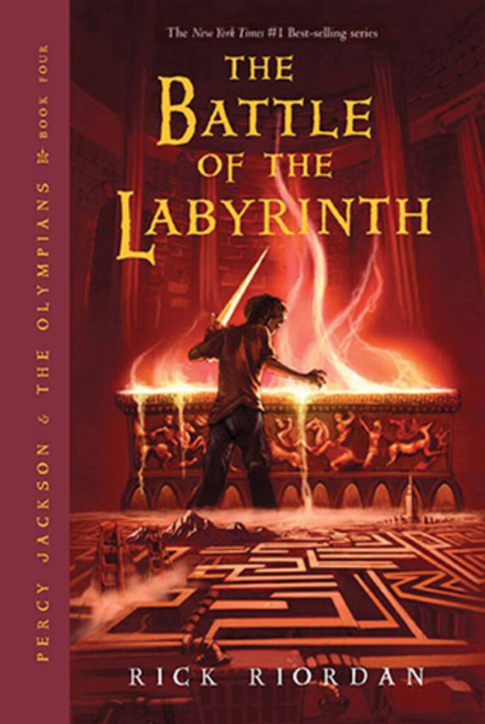 Percy Jackson and the battle of the labyrinth 4