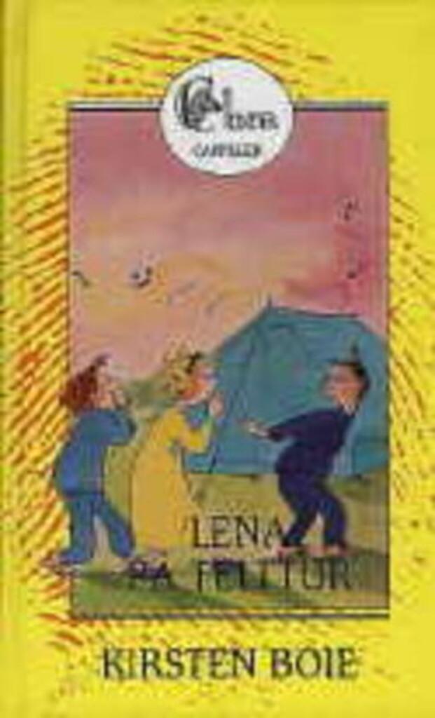 Lena på telttur
