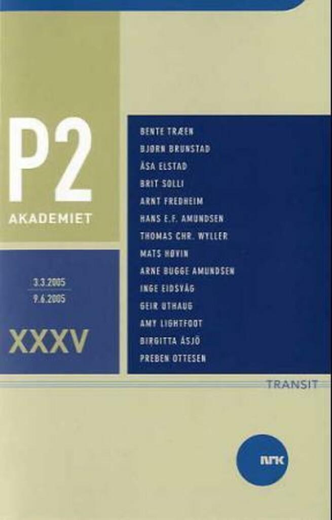 P2-akademiet bind XXXV