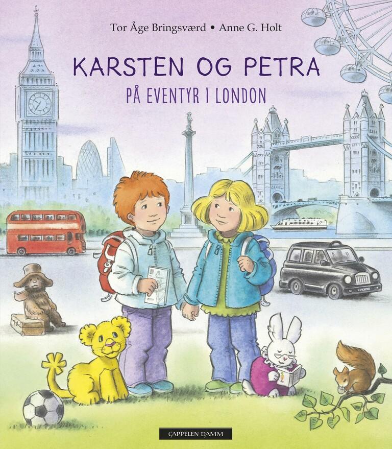 Karsten og Petra på eventyr i London