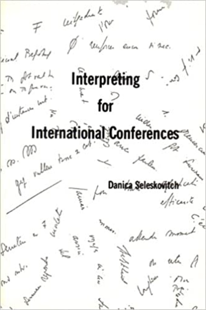 Interpreting for international conferences