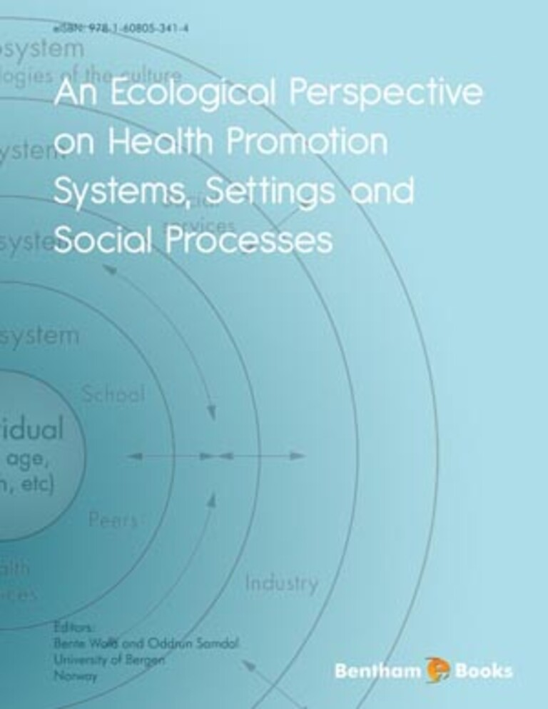 An Ecological Perspective on Health Promotion