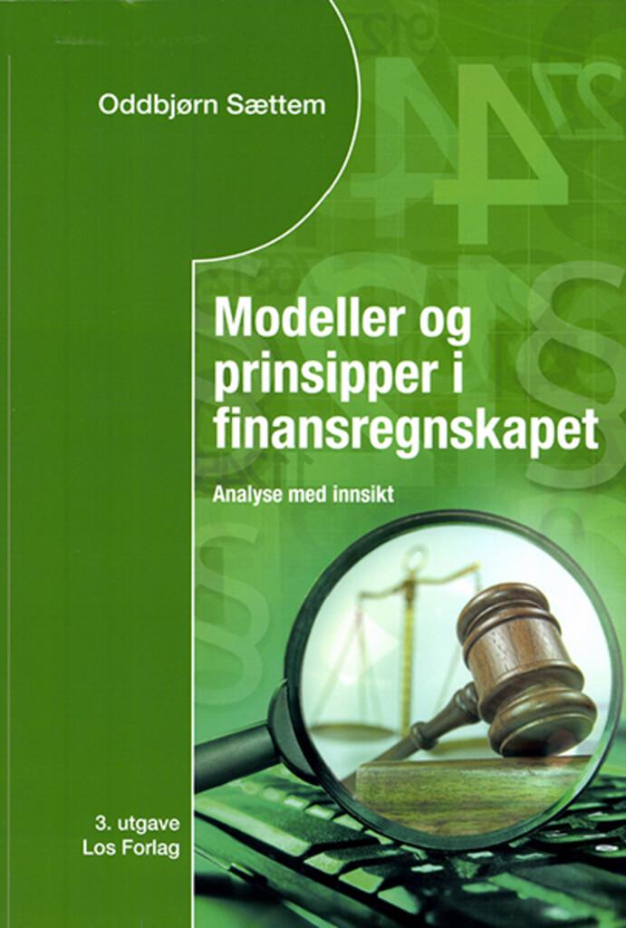 Modeller og prinsipper i finansregnskapet
