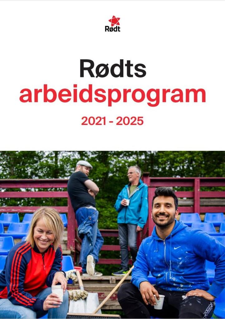 Rødts arbeidsprogram 2021-2025