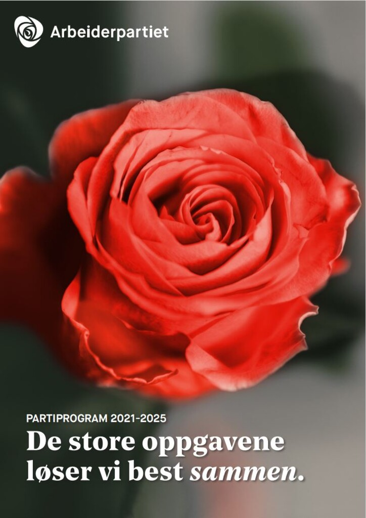 Arbeiderpartiets partiprogram 2021-2025